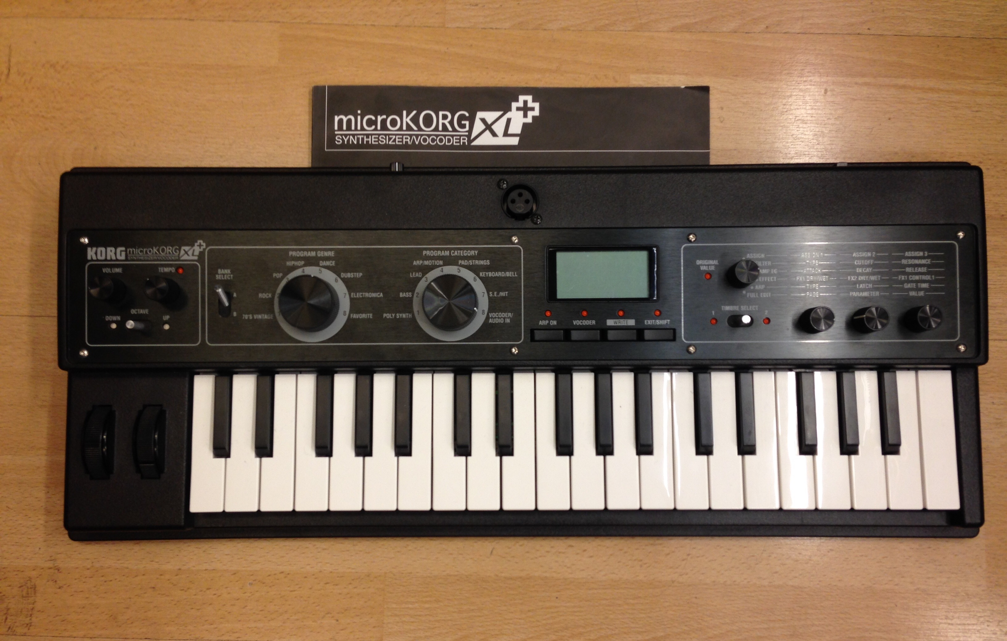 korg microkorg xl plus for sale at x electrical. Black Bedroom Furniture Sets. Home Design Ideas