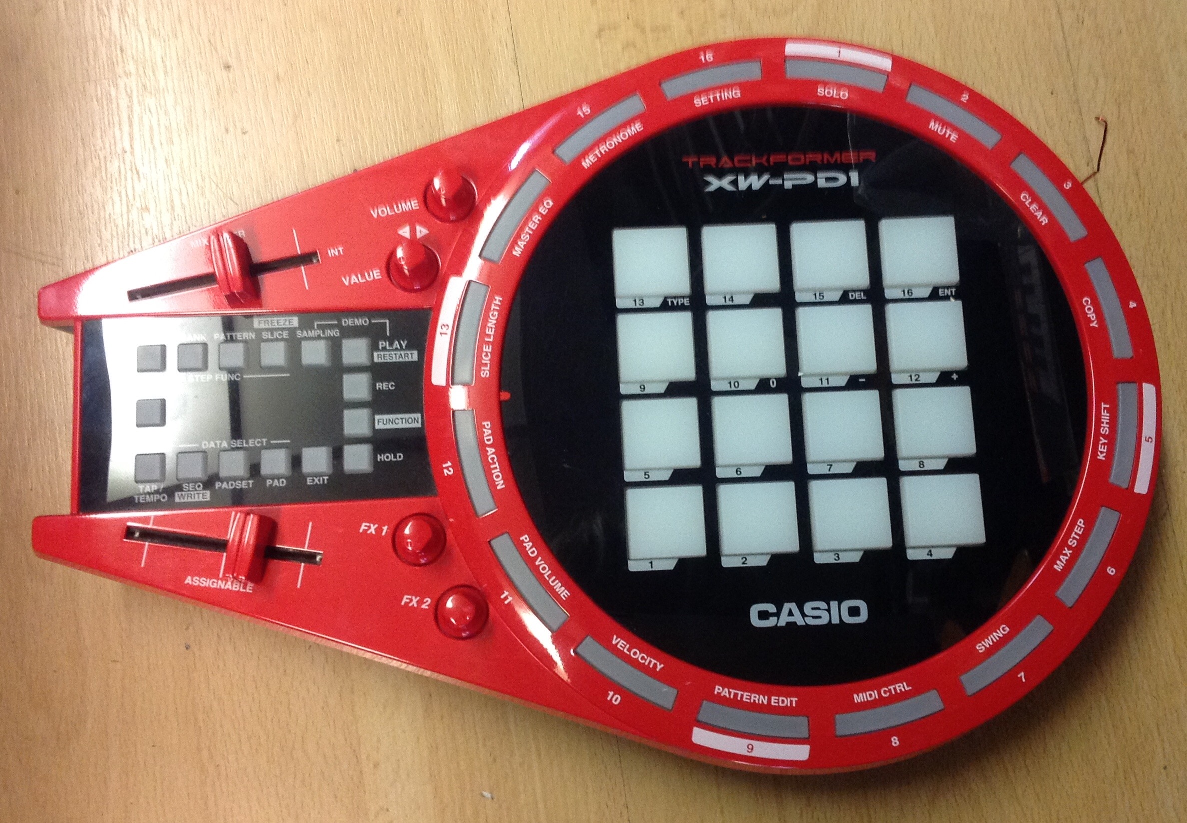 Picture of Casio XW-PD1