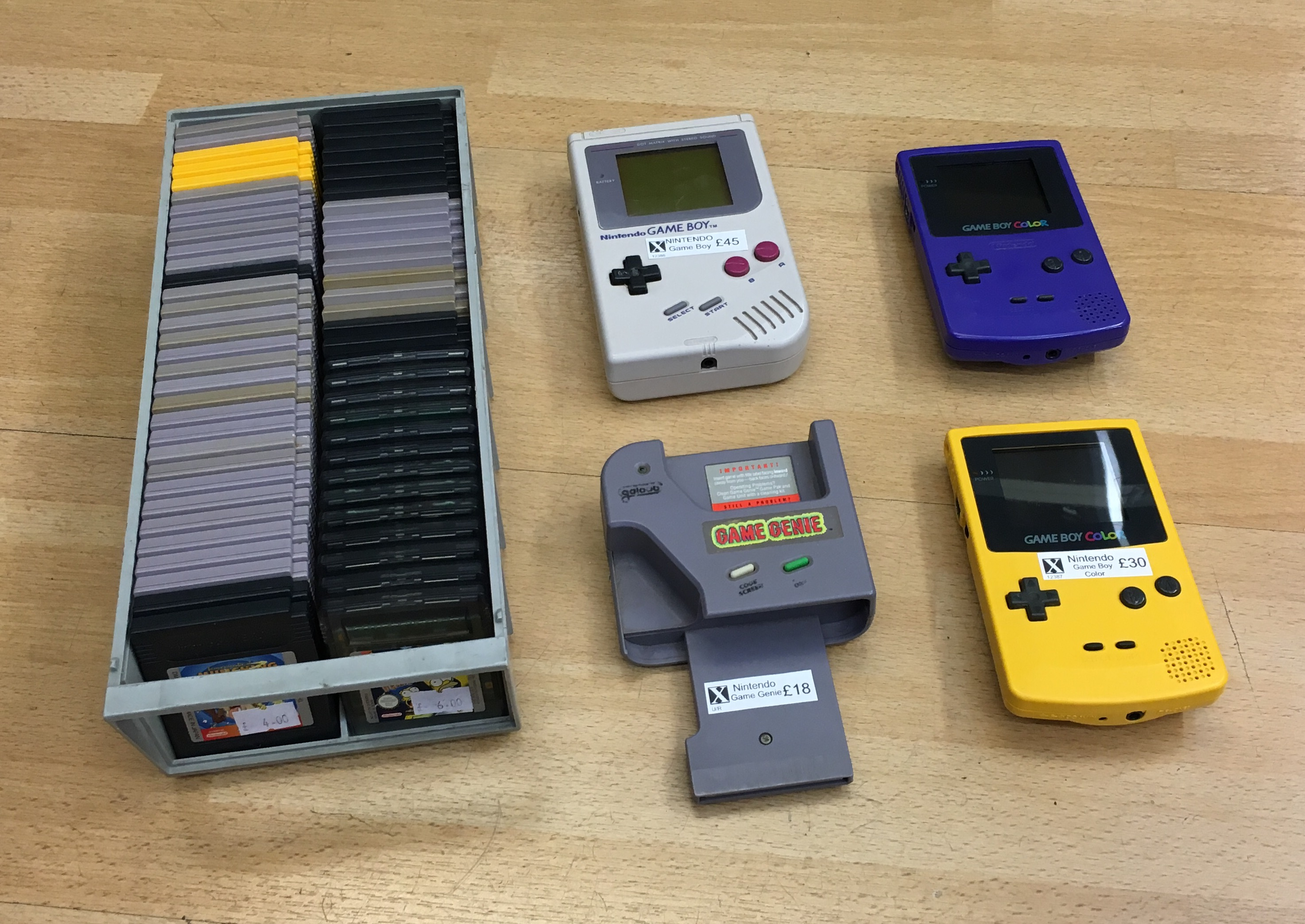 Picture of Nintendo Game Boy Games
