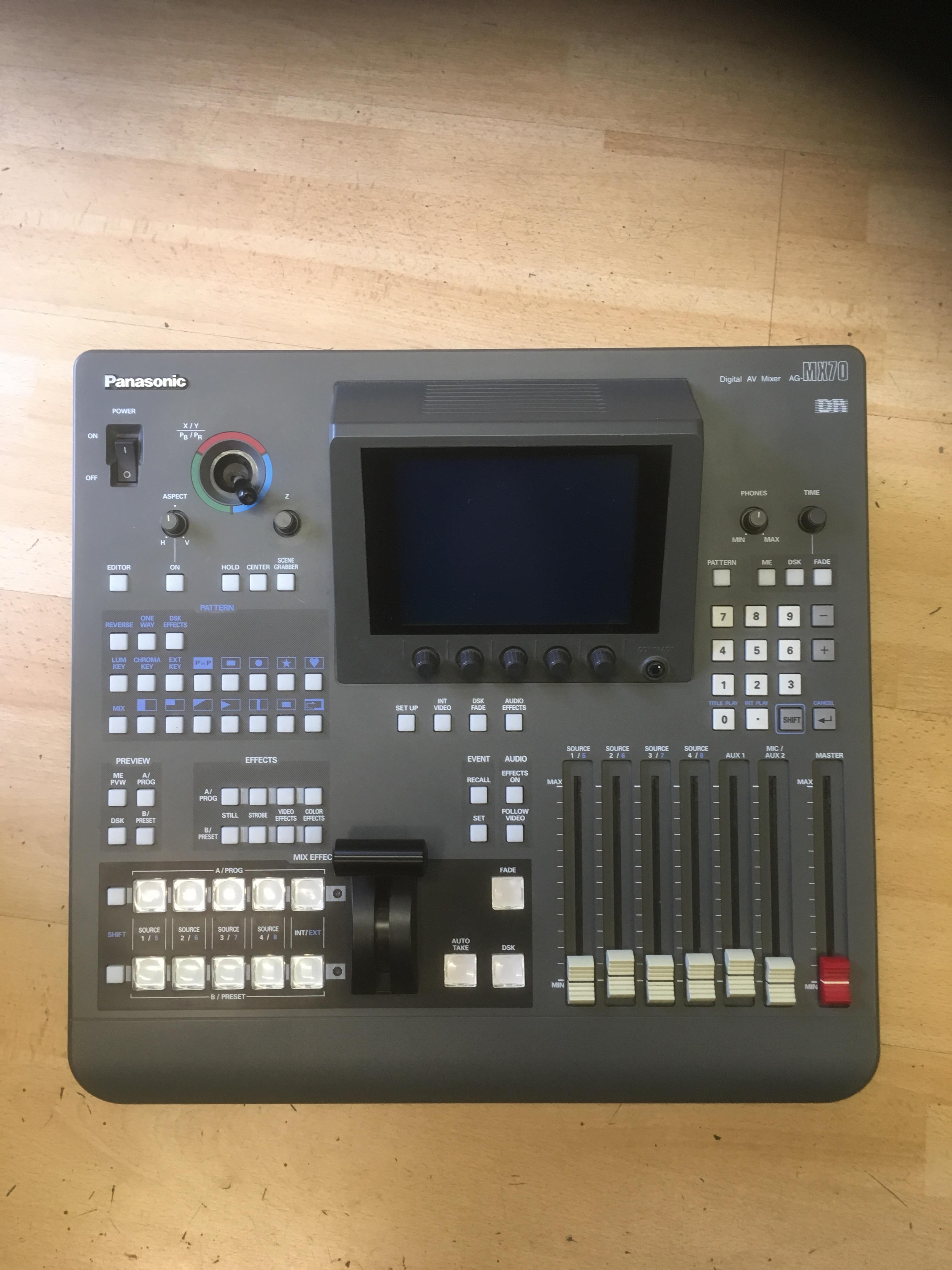 Picture of Panasonic AG-MX70