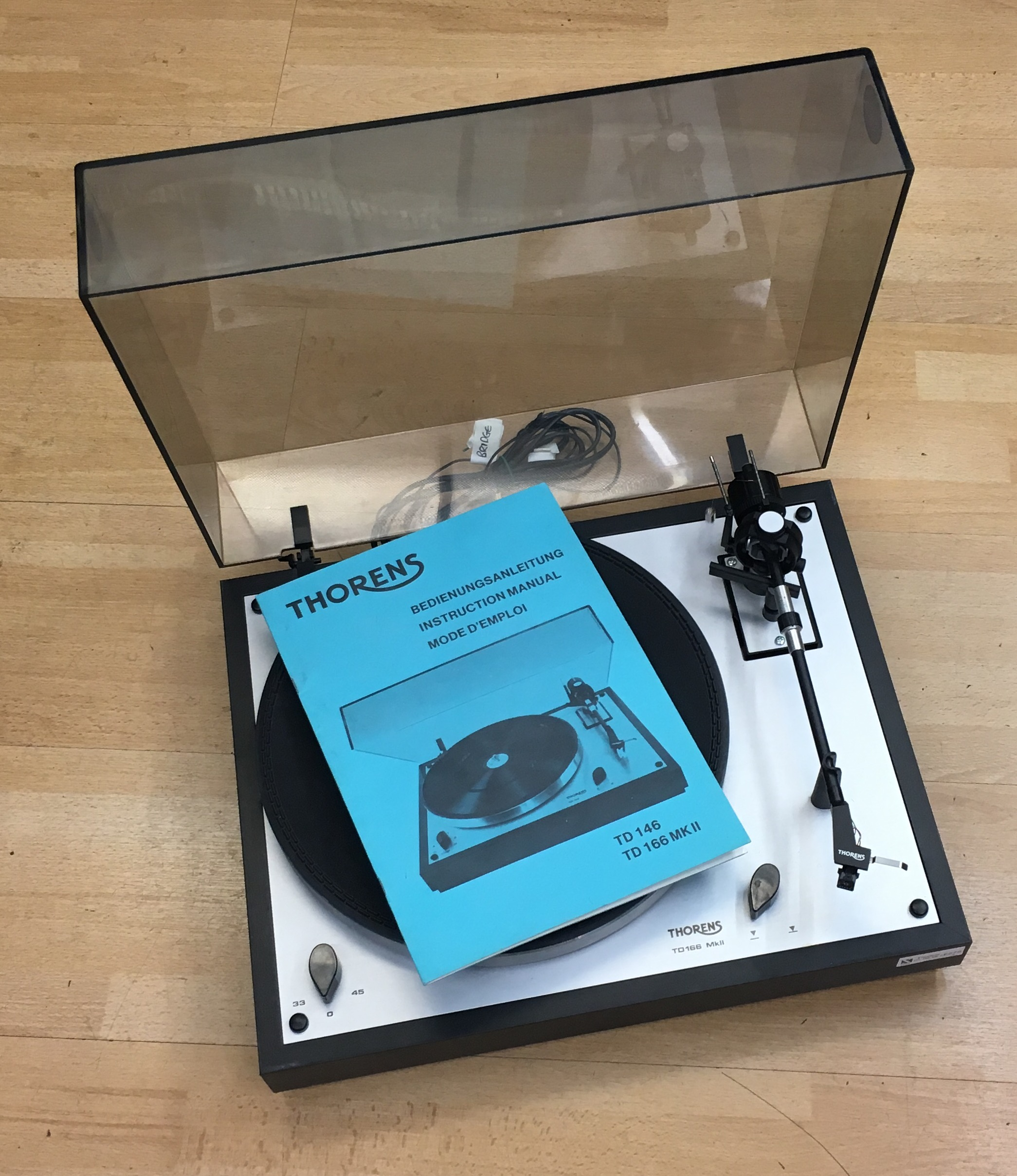 Thorens TD-166 Mk2 for sale at X Electrical