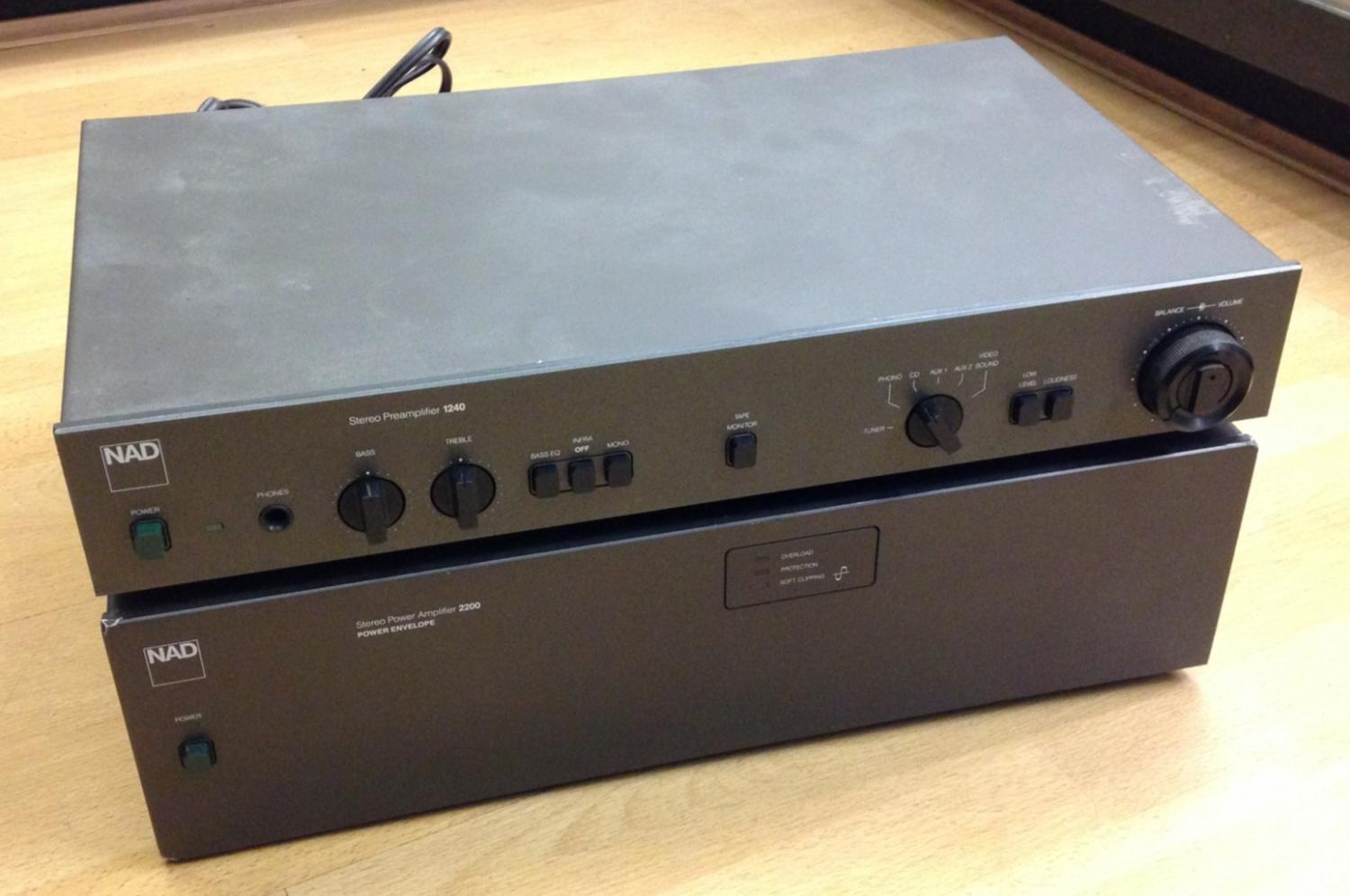 NAD 1240 for sale at X Electrical