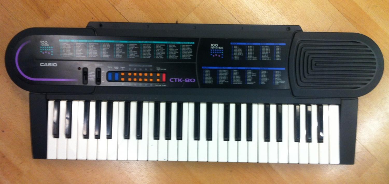 casio ctk 80 keyboard