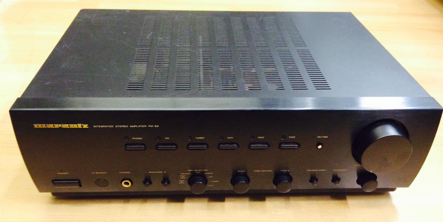 Marantz PM 63 6545 on electrical