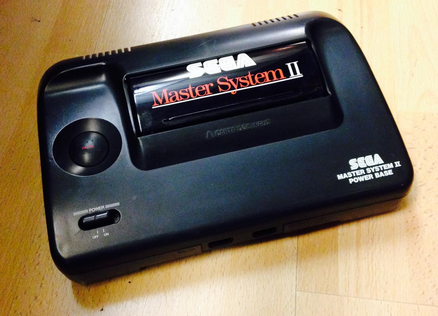 Sega master system ii for sale at x electrical - Sega master system console for sale ...