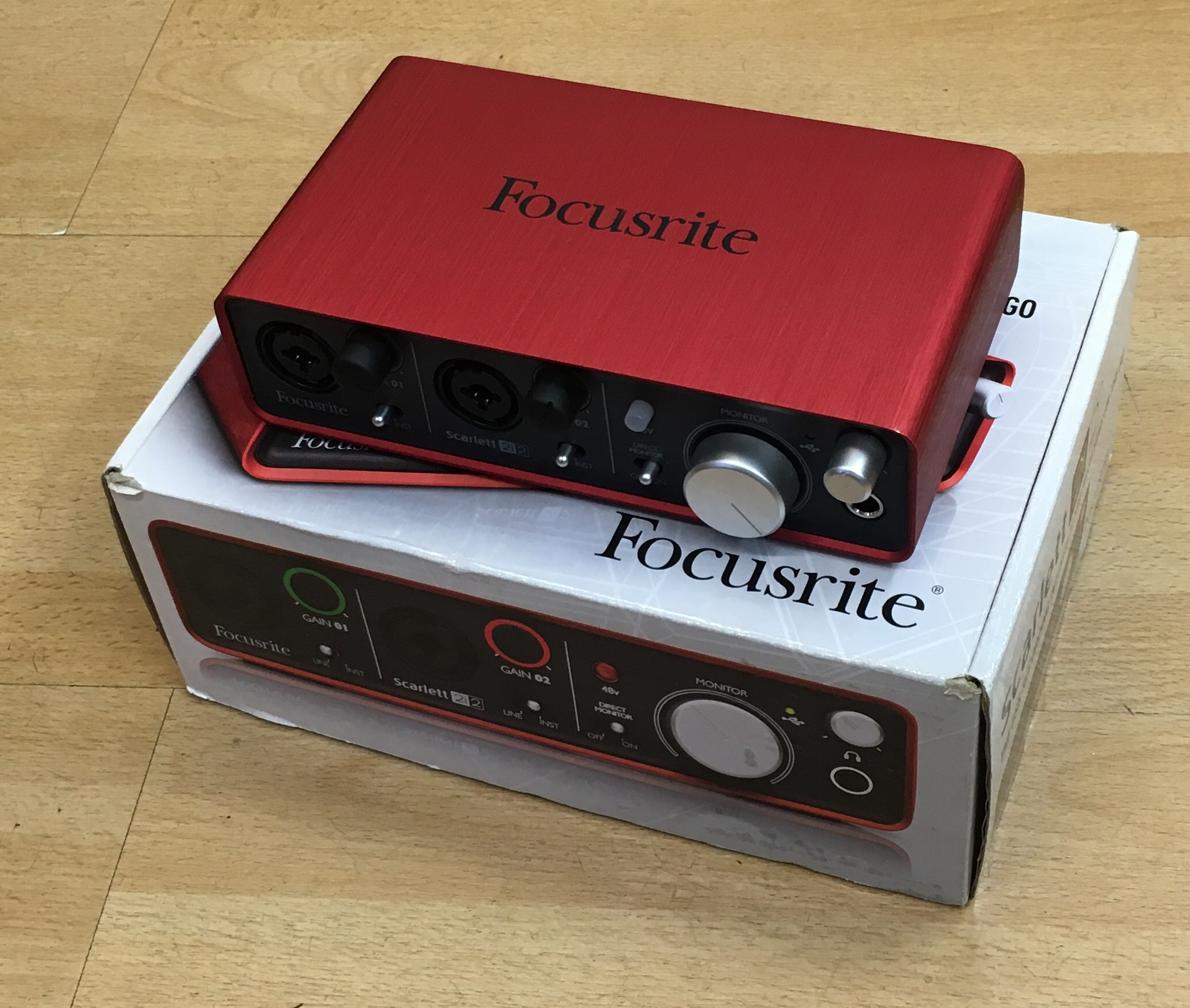 Picture of Focusrite Scarlett 2i2