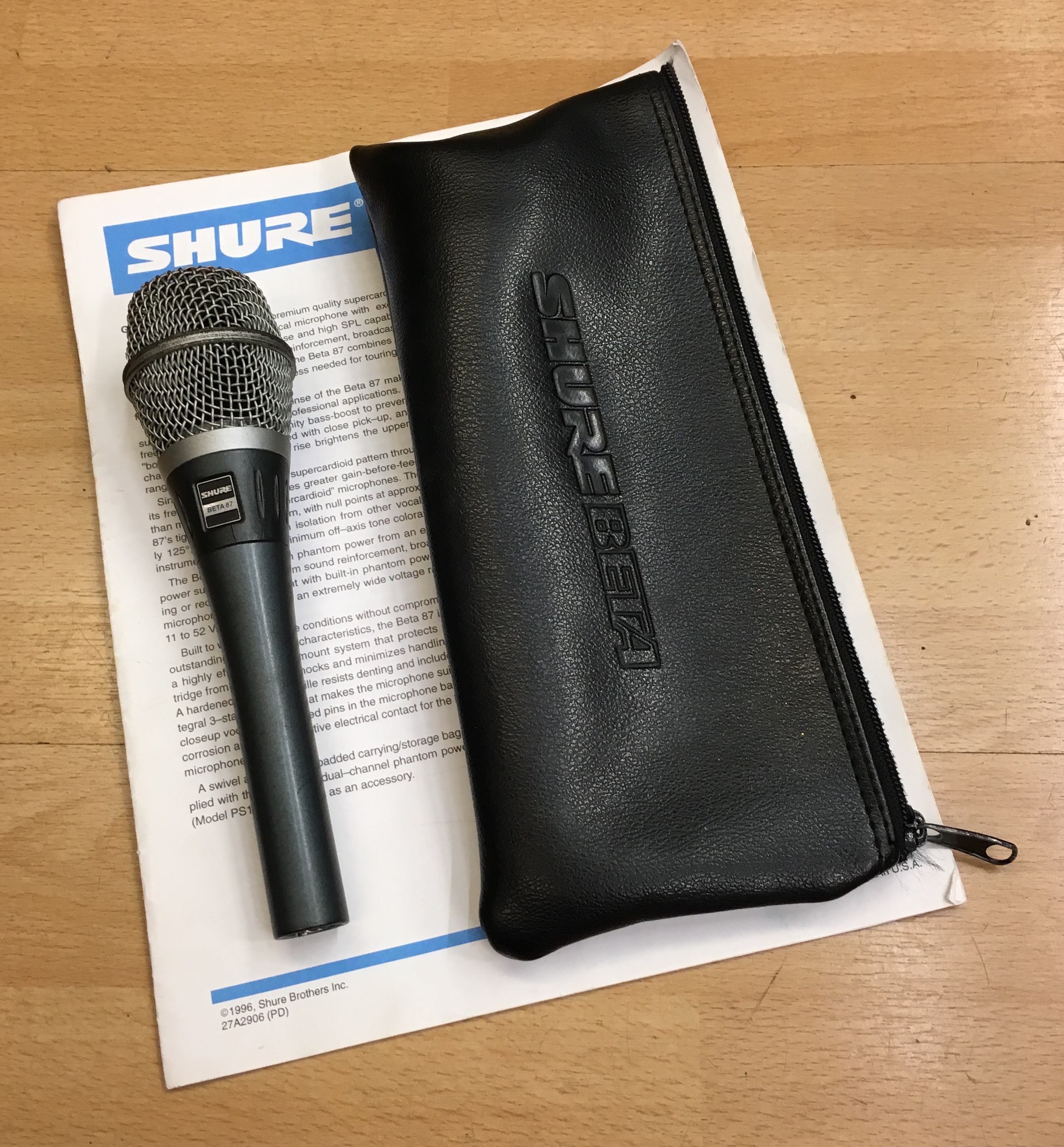 Picture of Shure Beta 87